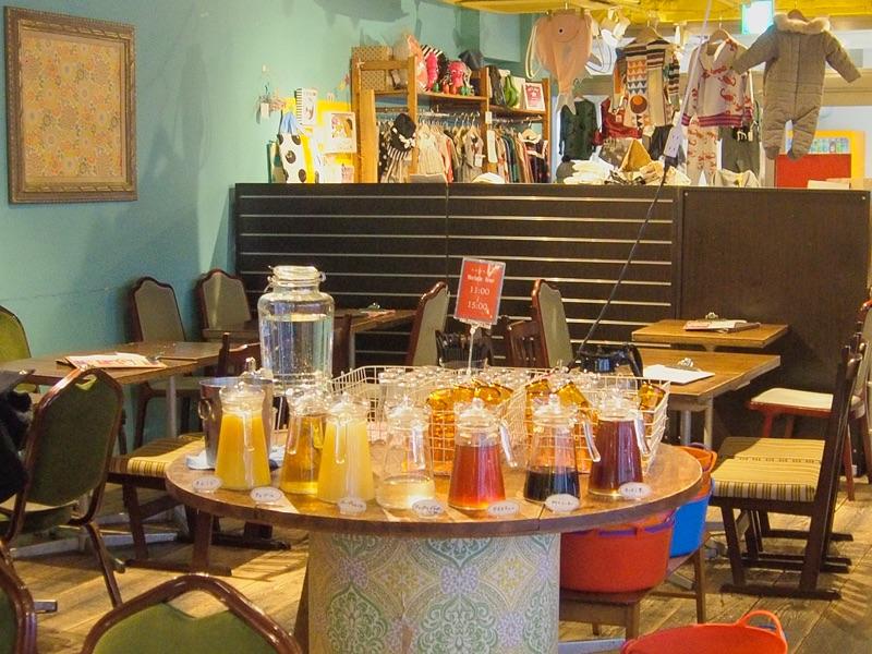cafe太陽ノ塔 NAMBA CITYのドリンクバー