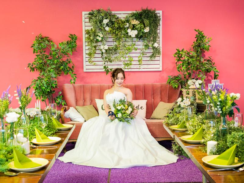 cafe太陽ノ塔 NAMBA CITYのウェディングプランの花嫁やブーケ