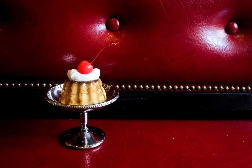 cafe太陽ノ塔昔ながらのプリン