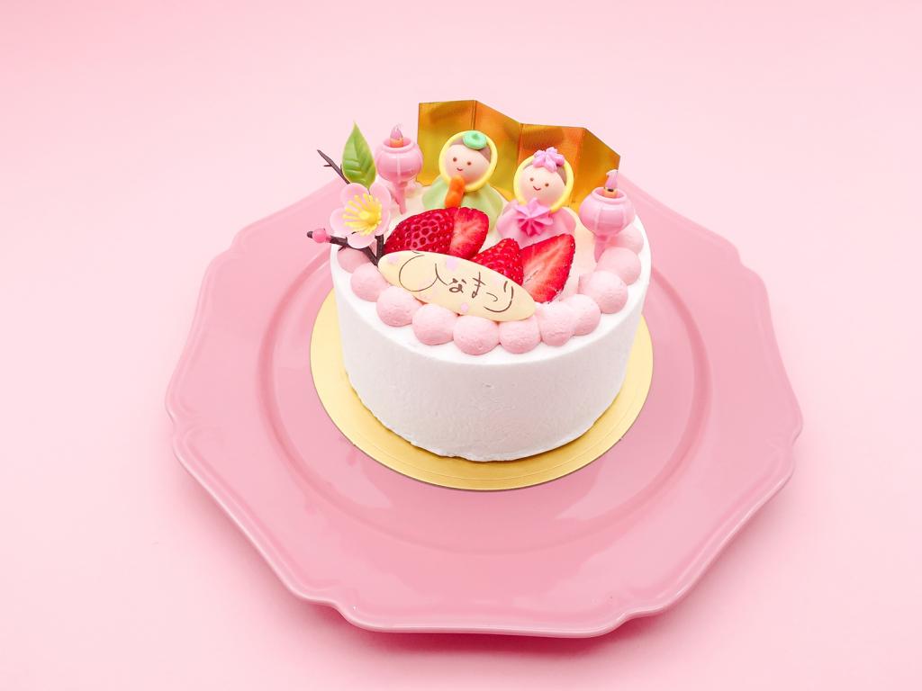 cake太陽ノ塔オリジナルひなまつりデコレーションケーキ