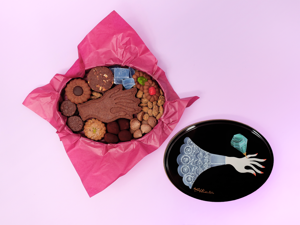 新作クッキー缶タイヨウノカンカン「kuro」